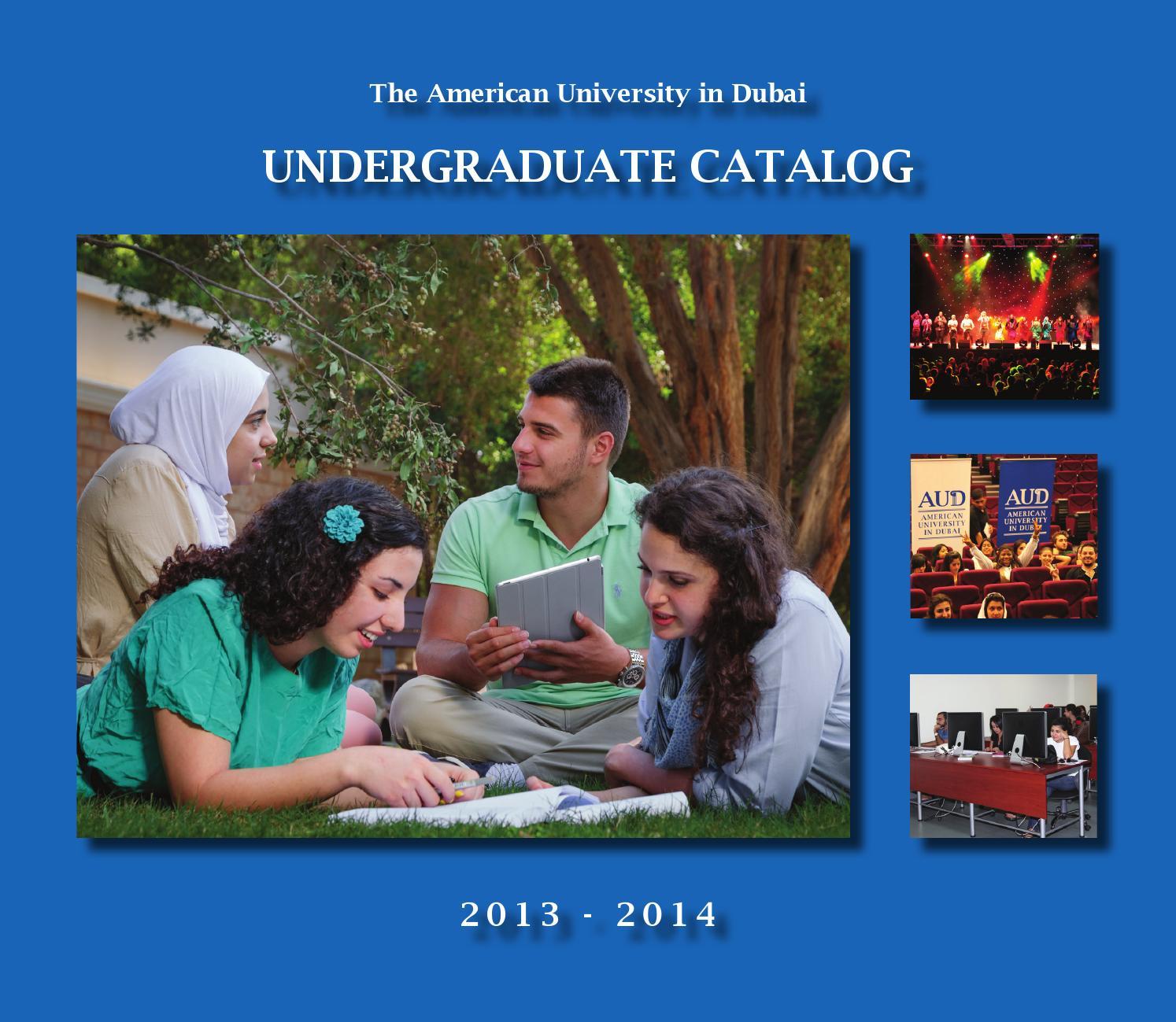 Undergraduate Catalog 2013 2014