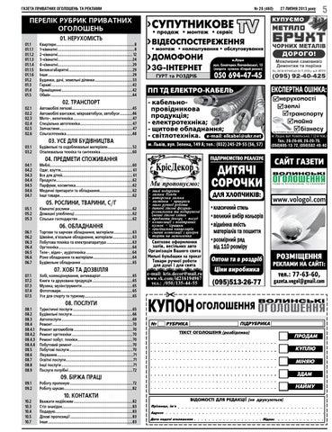 Волинські оголошення №28 by Роман - issuu a81e5a16df9f5
