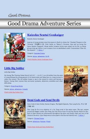 Good Drama Adventure Series By Gooddrama Issuu