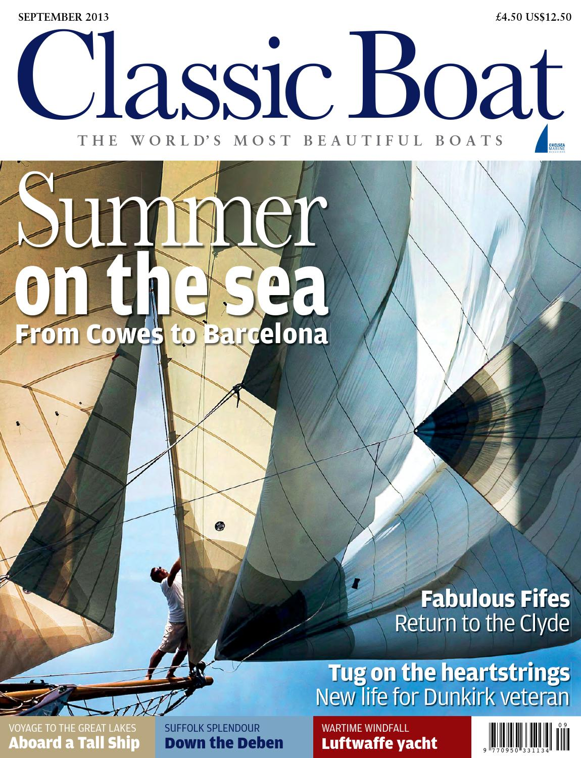 Classic Boat September 2013 by The Chelsea Magazine Company - issuu