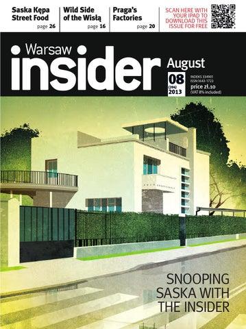 kupuję teraz niska cena sprzedaży sklep Warsaw Insider August 2013 # 204 by Valkea Media Pro - issuu