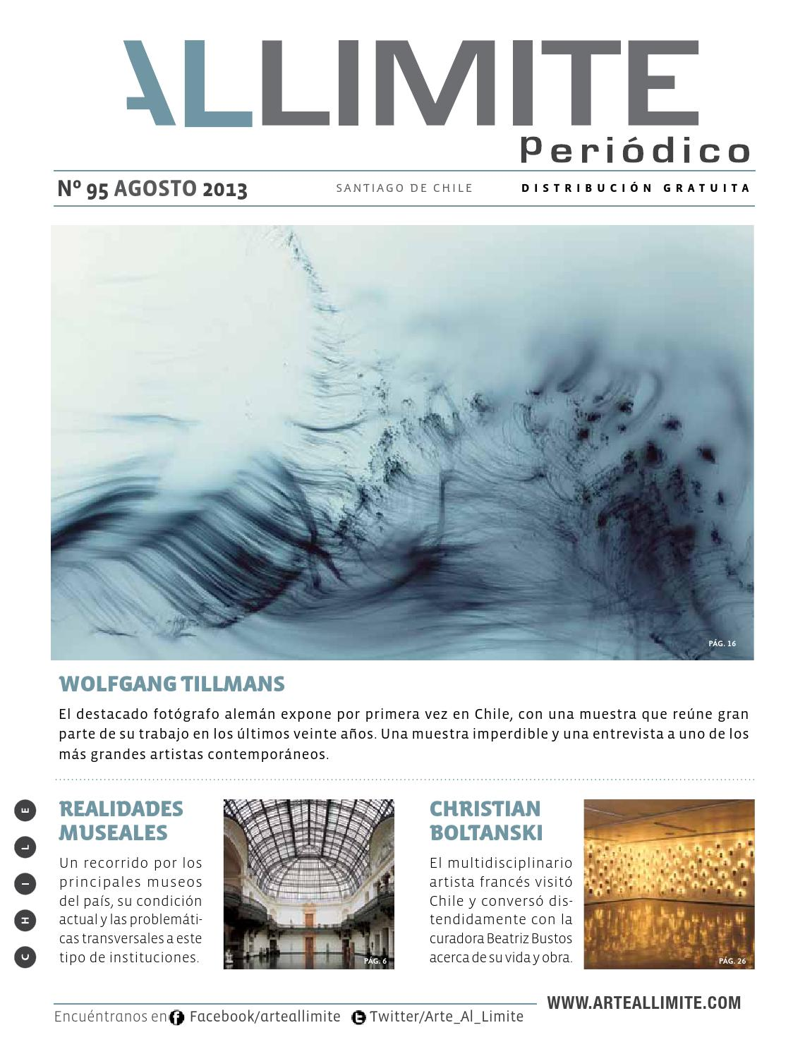 Periódico Arte Al Límite Nº 95, Agosto de 2013 by Arte al Límite - issuu