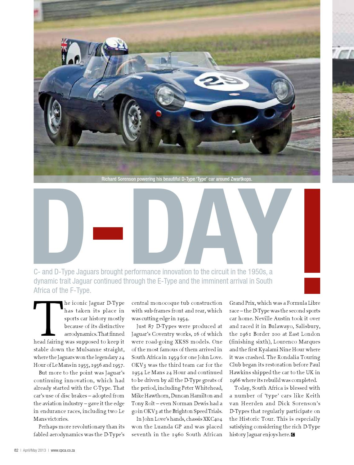 Classic Performance Car Africa April May 2013 By 1950s Jaguar S Issuu