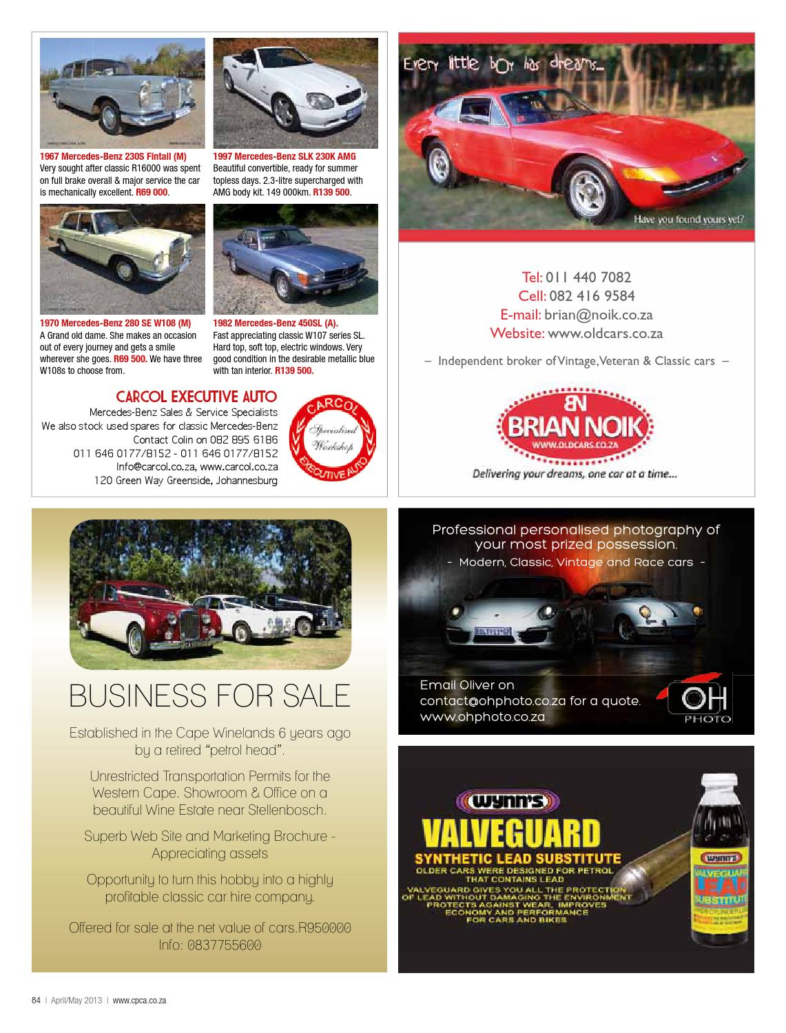 Classic & Performance Car Africa April/May 2013 by classic ...