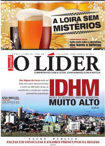 d9a2cd6c32e O lider smo 03 de agosto de 2013 by Jornal O Líder - São Miguel do ...
