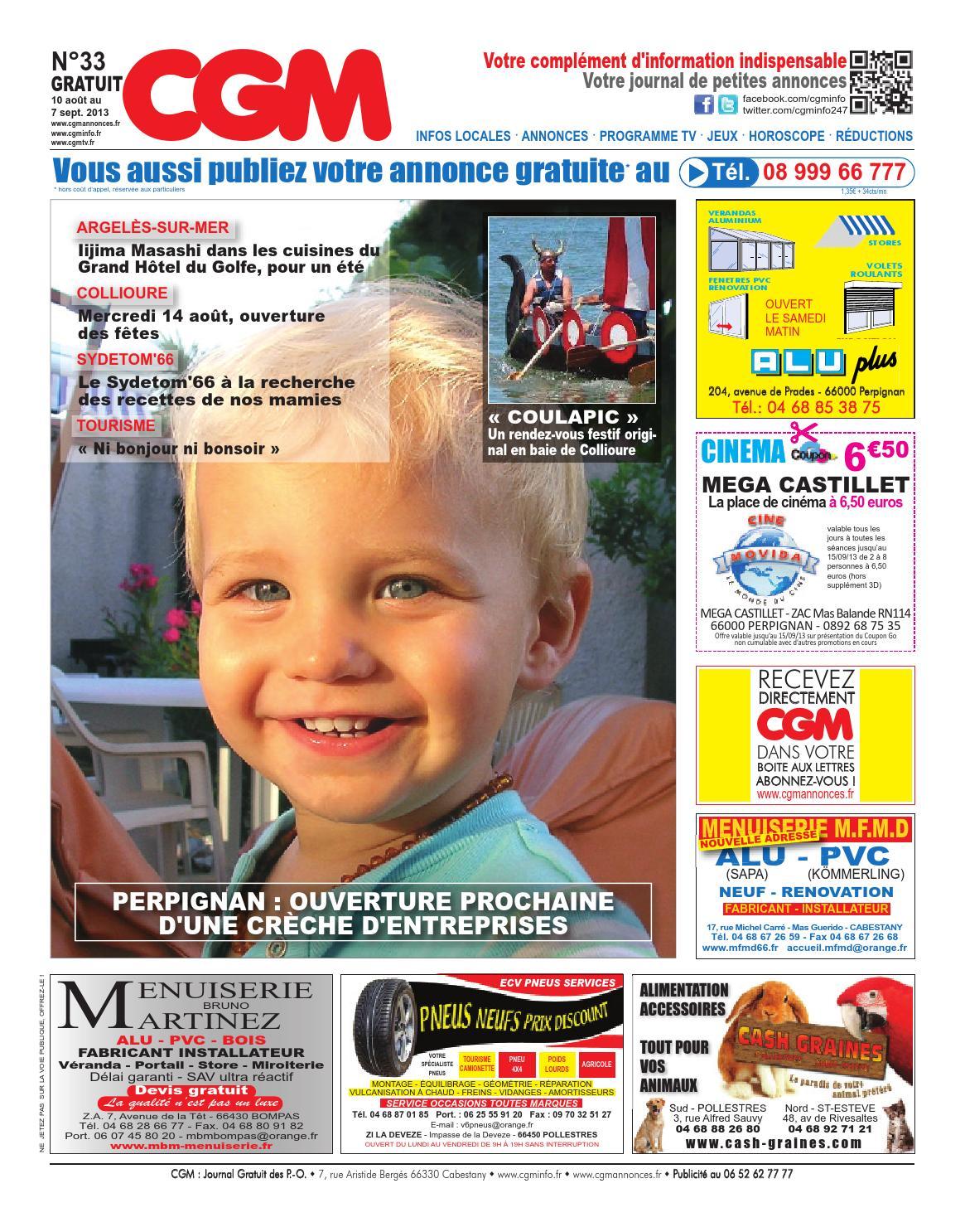 cgm 33 journal gratuit d 39 information et de petites annonces gratuites perpignan et sa r gion. Black Bedroom Furniture Sets. Home Design Ideas