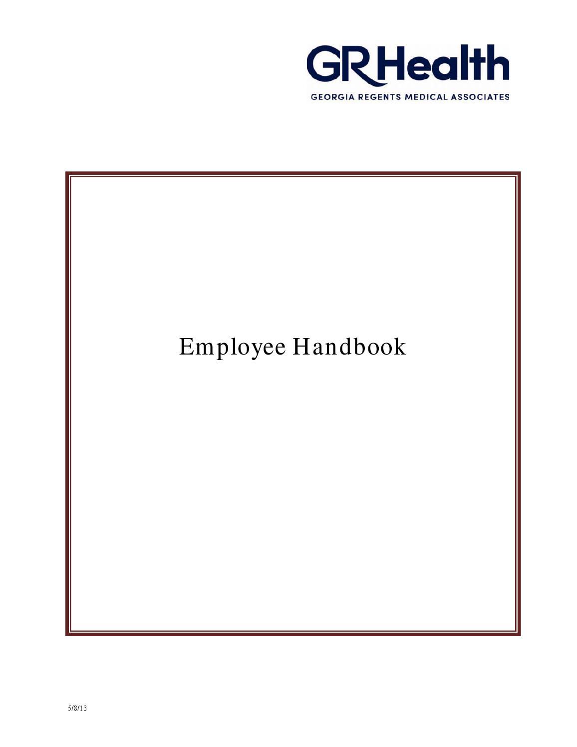 h&m employee handbook