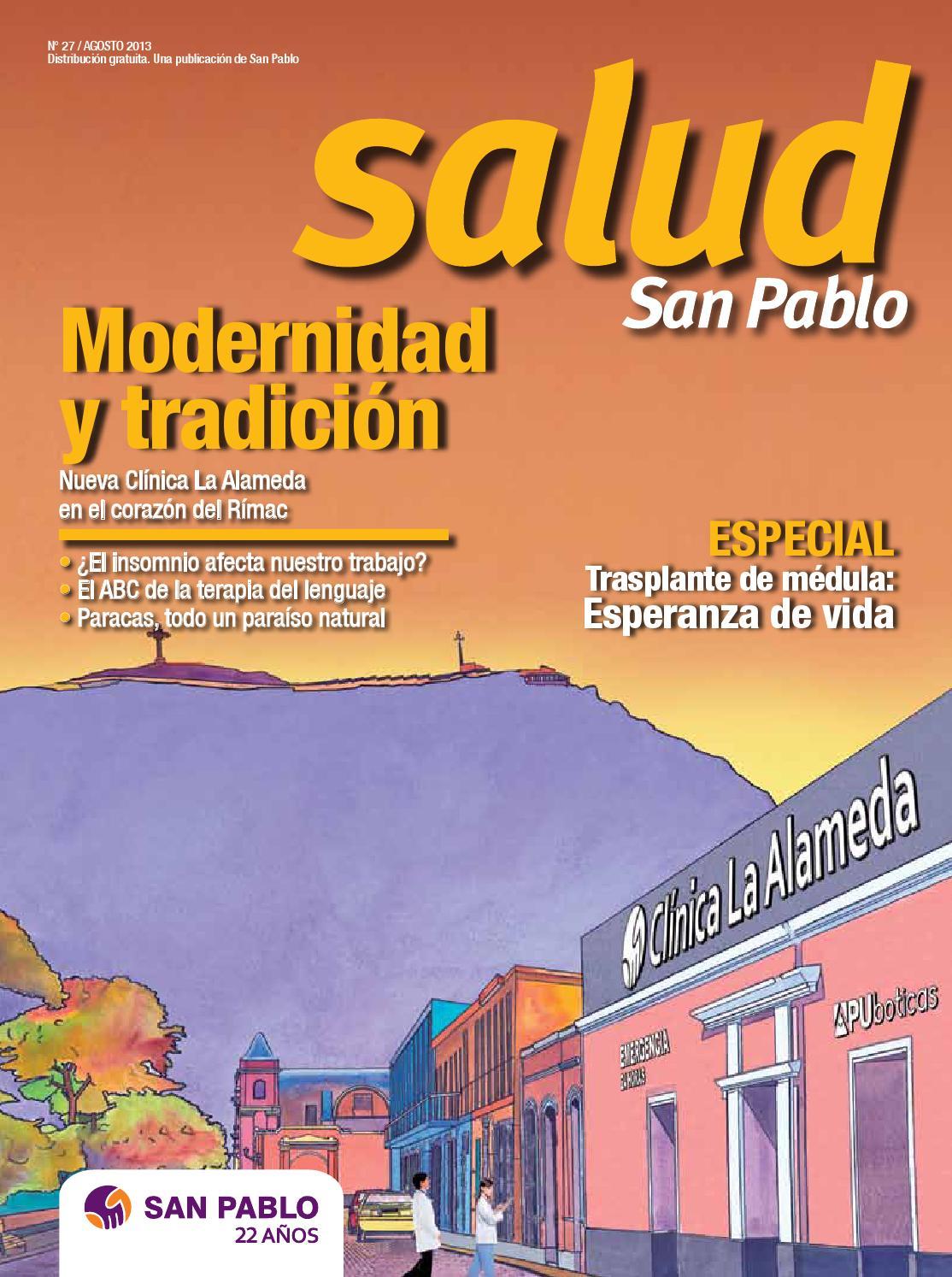 Revista Salud San Pablo N° 27 by San Pablo - issuu