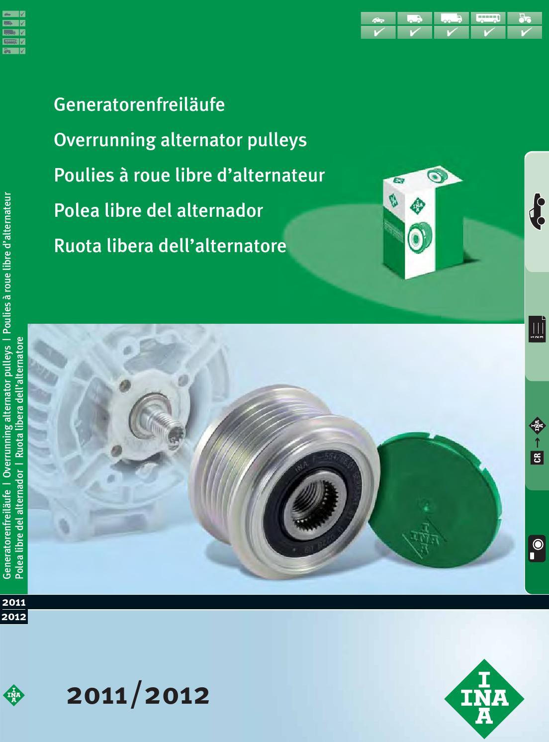 INA Generatorfreilauf für Generator 535 0216 10