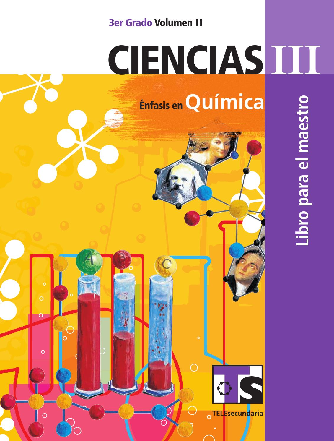 Maestro. Ciencias 3er. Grado Volumen II By Rarámuri - Issuu @tataya.com.mx