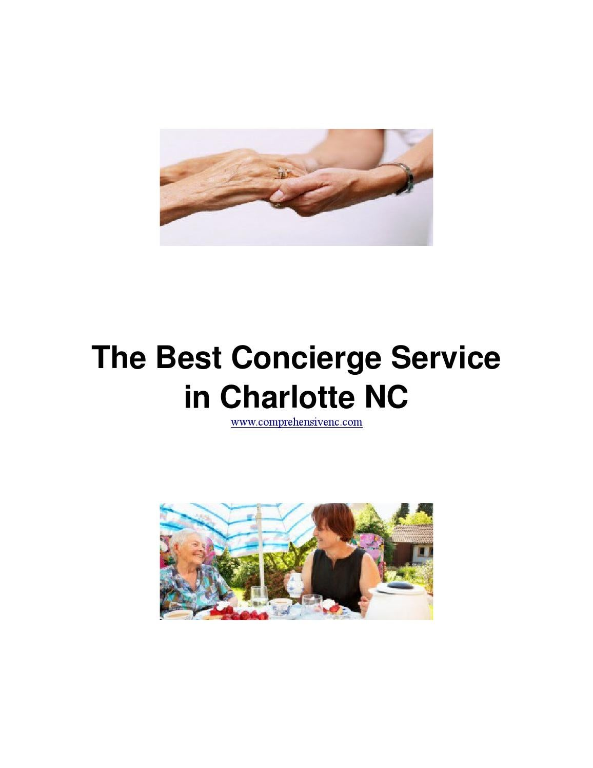 The Best Concierge Service In Charlotte Nc By Silviu