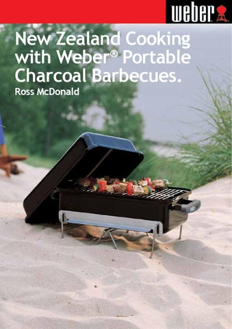 New Zealand Cooking With Weber Go Anywhere Portable Charcoal Barbecues