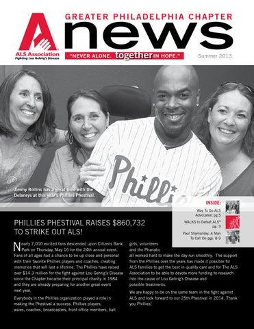 ALS Philadelphia Summer 2013 Newsletter by ALS Greater