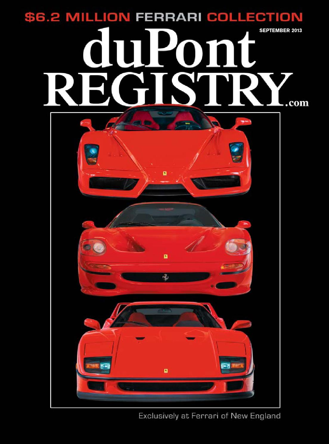 duPontREGISTRY Autos September 2013 by duPont REGISTRY - Issuu