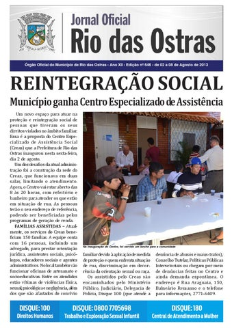65f8c825a0 Edição nº 646 by Rio Das Ostras Jornal - issuu