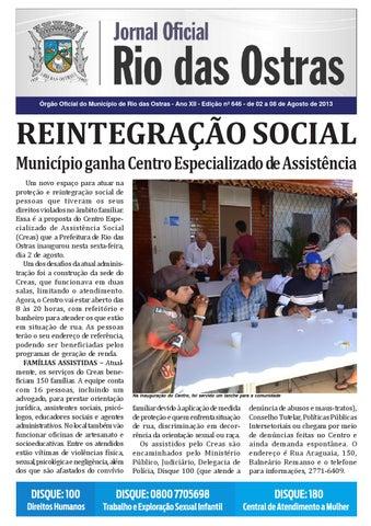Edição nº 646 by Rio Das Ostras Jornal - issuu 5e718b4db64
