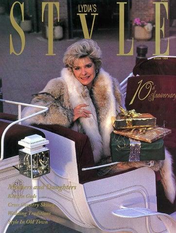 62ed4c56d 1994-12 Lydia s Style Magazine by Style Media   Design