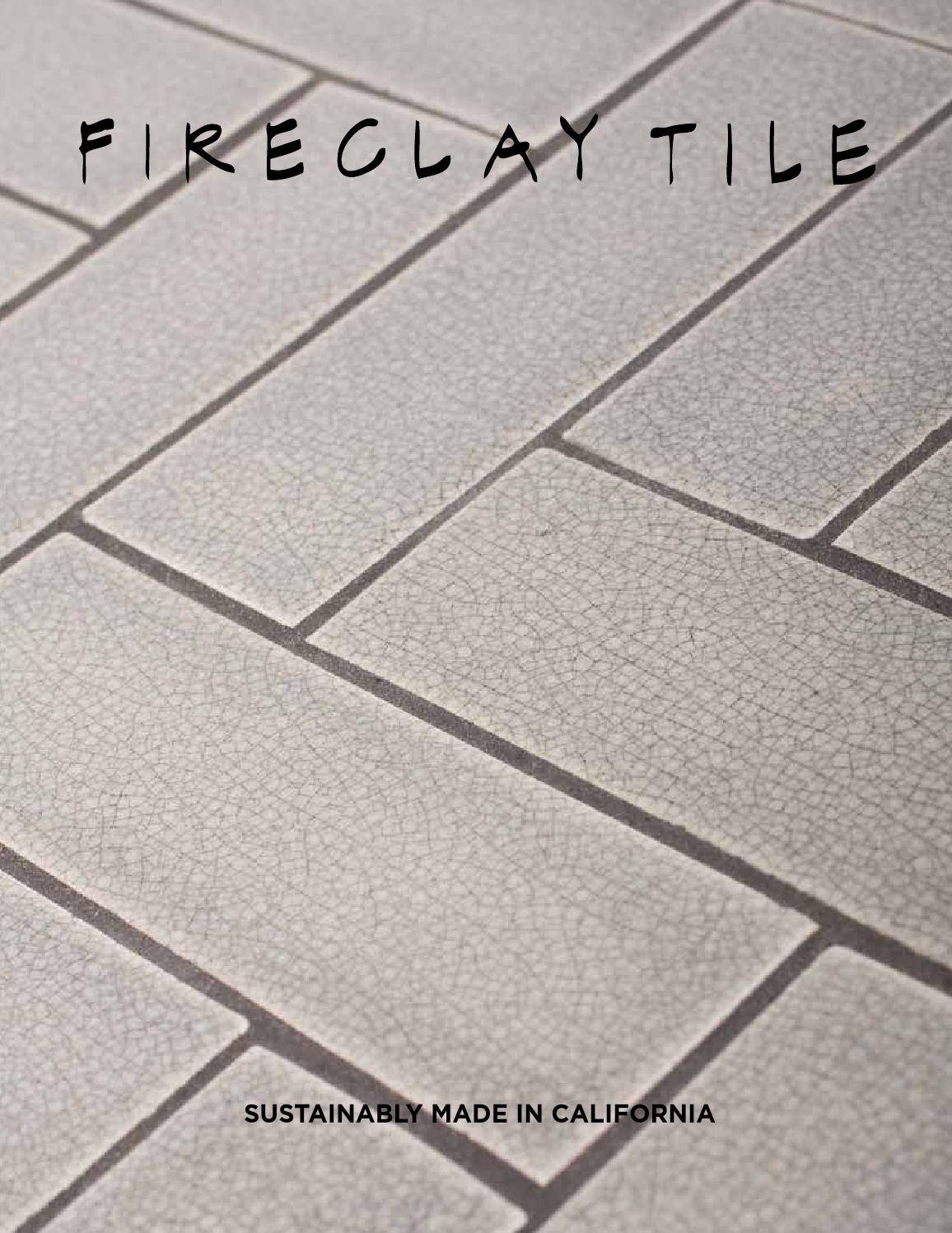 Fireclay Tile 2013 Print Catalog by Fireclay Tile - issuu