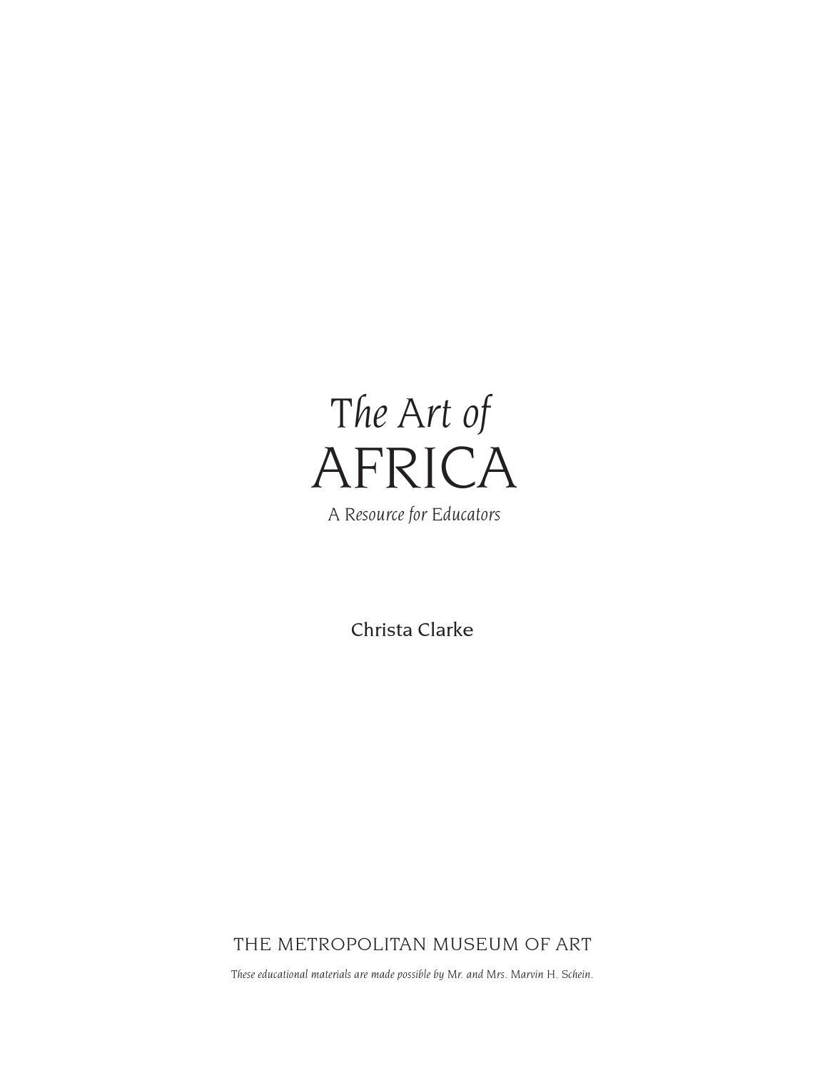 The art of africa a resource for educators by gaetan verdier issuu buycottarizona