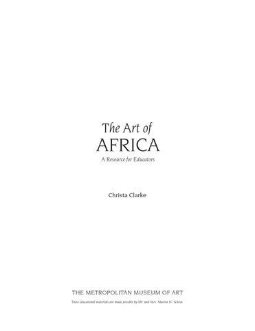 24cf7ed2ced The art of africa a resource for educators by gaetan verdier - issuu