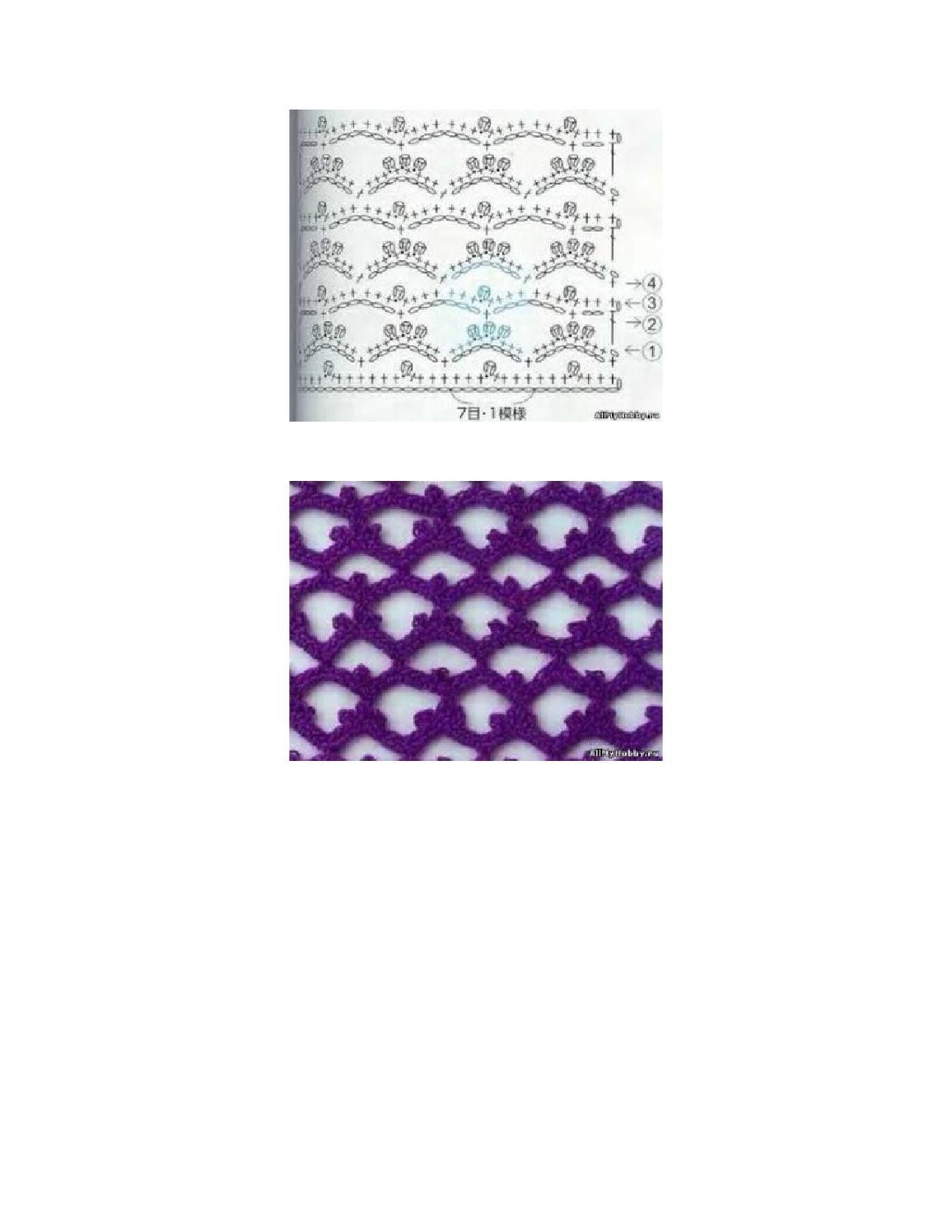 Modelos de puntos en dos agujas by Yadira Mendez - issuu