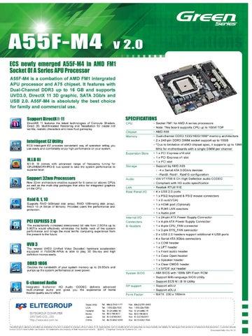 ECS A55F-M4 AMD CHIPSET DRIVERS WINDOWS 7
