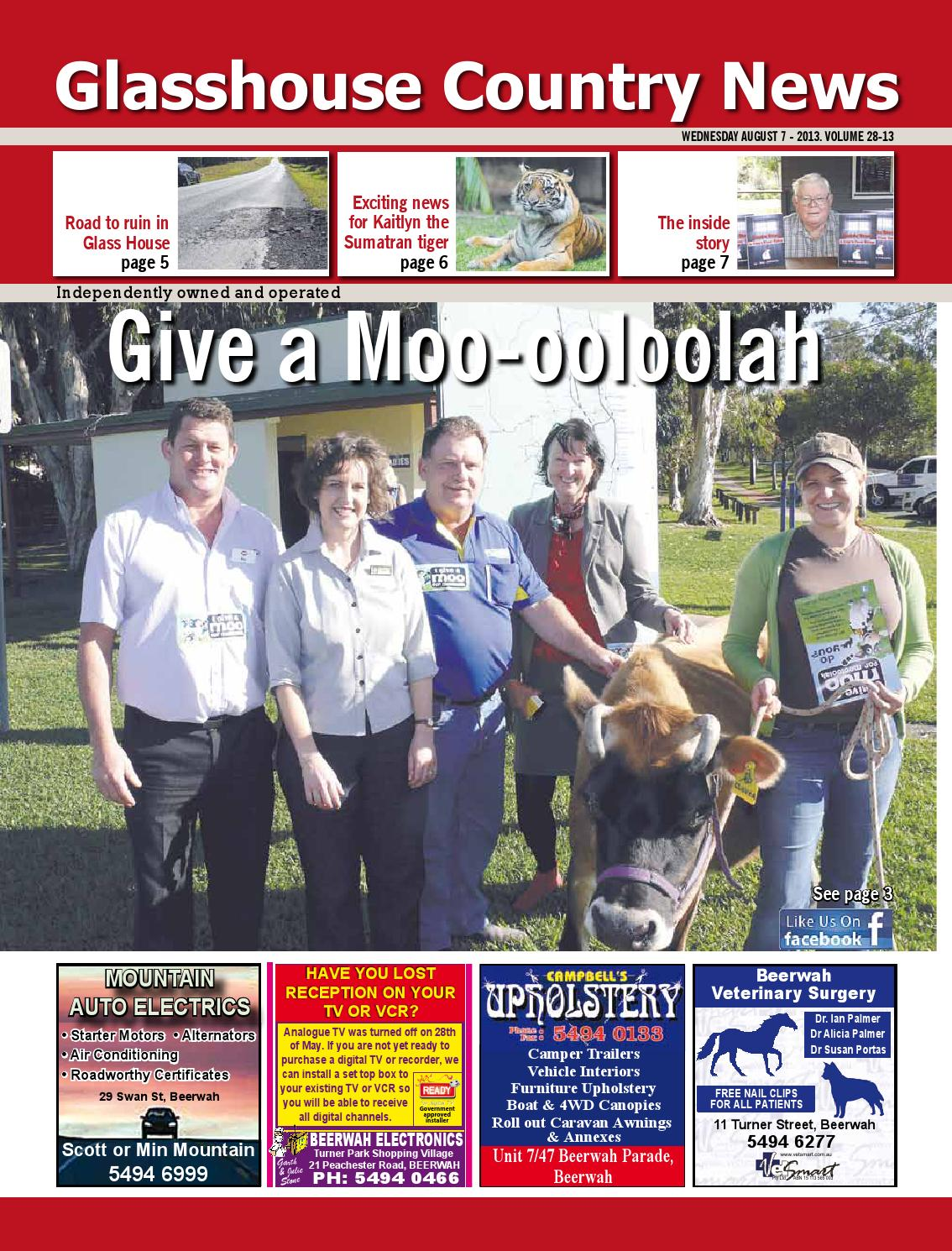 Edition 7 august 2013 by Glasshouse Country & Maleny News ...