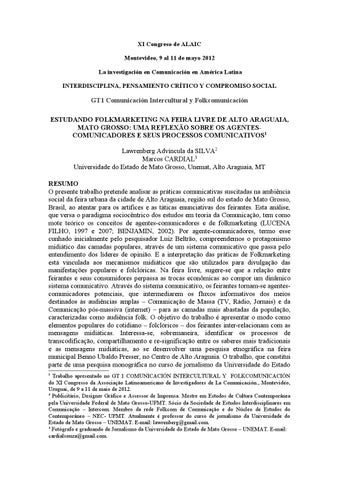 5b260939fd406 XI Congresso ALAIC - GT1 - Parte 2 2 by ALAIC - issuu