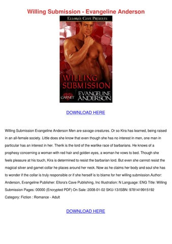 Willing Submission Evangeline Anderson By Simonesheridan Issuu