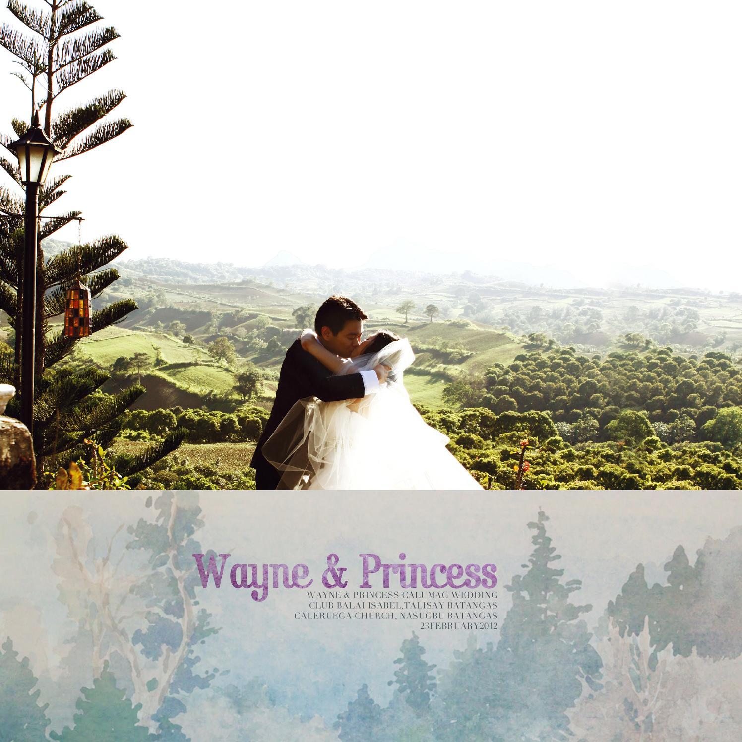 Wayne Marigold Princess Image: Wayne & Princess' Photobook By The Peppermint Media Co.
