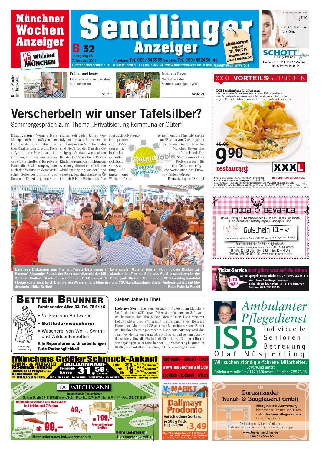 KW 32-2013 by Wochenanzeiger Medien GmbH - issuu