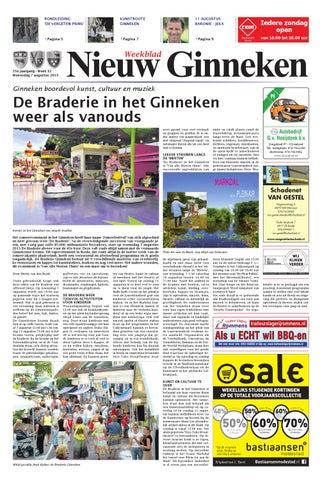 9c5eb82b355710 Weekblad Nieuw Ginneken 07-08-2013 by Uitgeverij Em de Jong - issuu