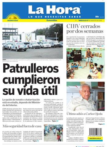 Esmeraldas 7 de agosto de 2013 by Diario La Hora Ecuador - issuu 52f7797df8c
