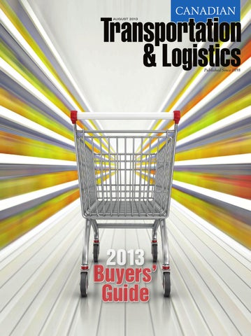 Canadian Transportation Logistics August 2013 By Annex Business