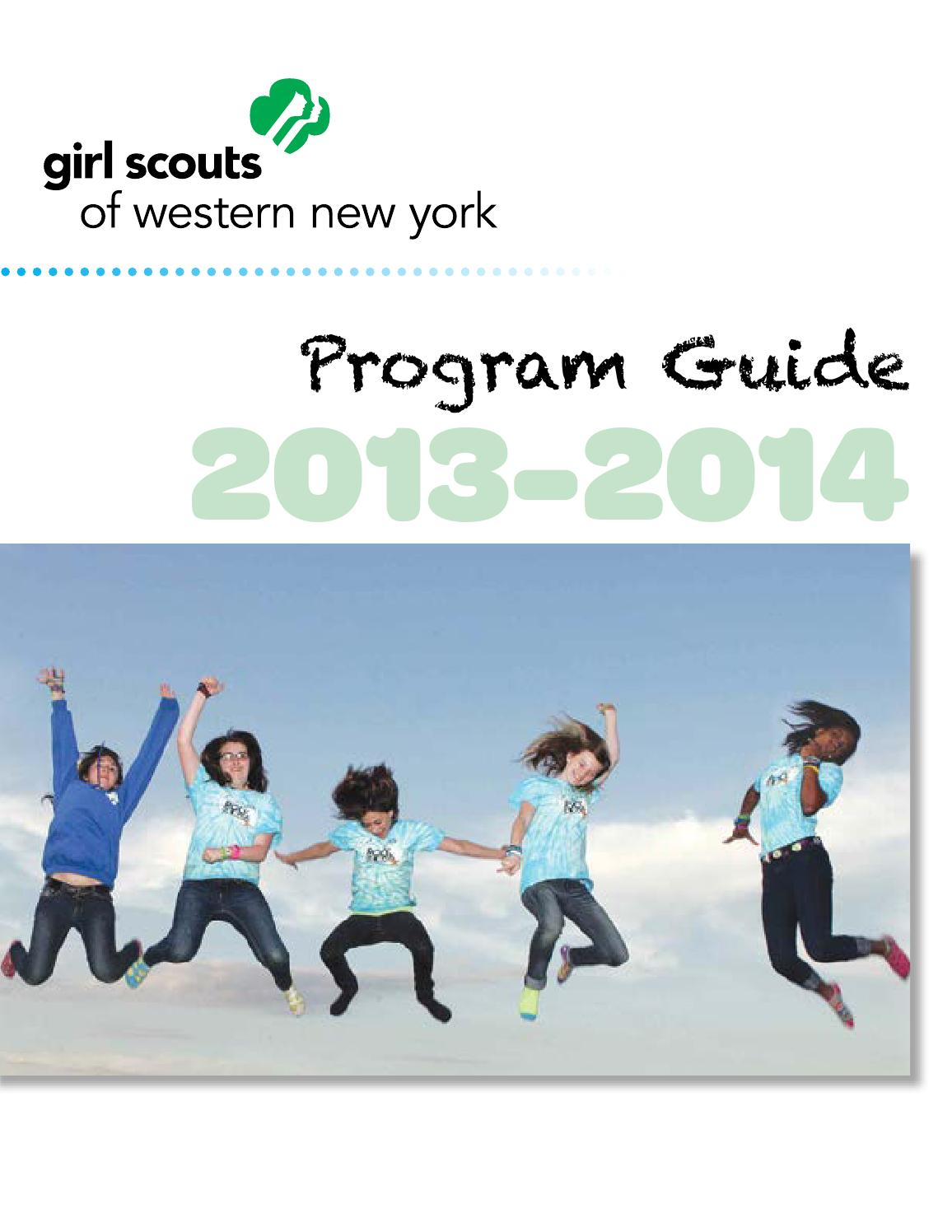 2013 2014 girl scouts of western new york program guide by