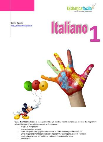 Classe1 Italiano By Piera Civello Issuu
