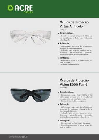 EPI s Óculos de Proteção Virtua Ar Incolor Código 723 1a568b3e62