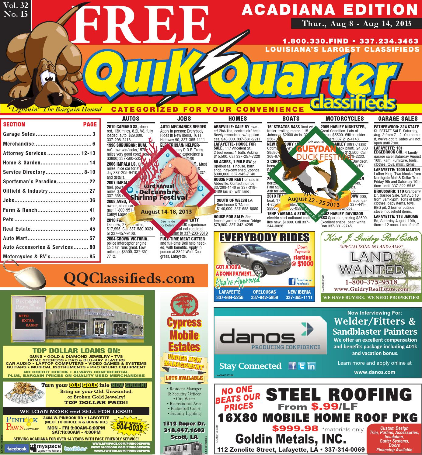 Qqacadiana 08082013 By Part Of The Usa Today Network Issuu La1800 Portable Am Fm Radio Circuit Design Electronic Project