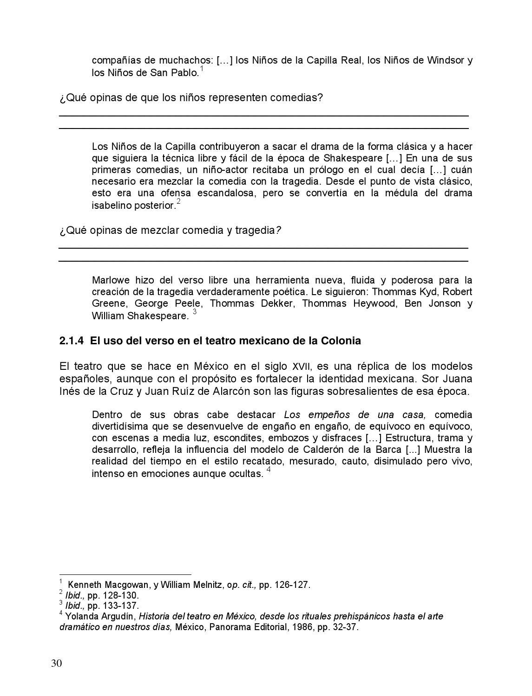 Apuntes 3er. Grado Educación Artística. Teatro 3 by Rarámuri - issuu