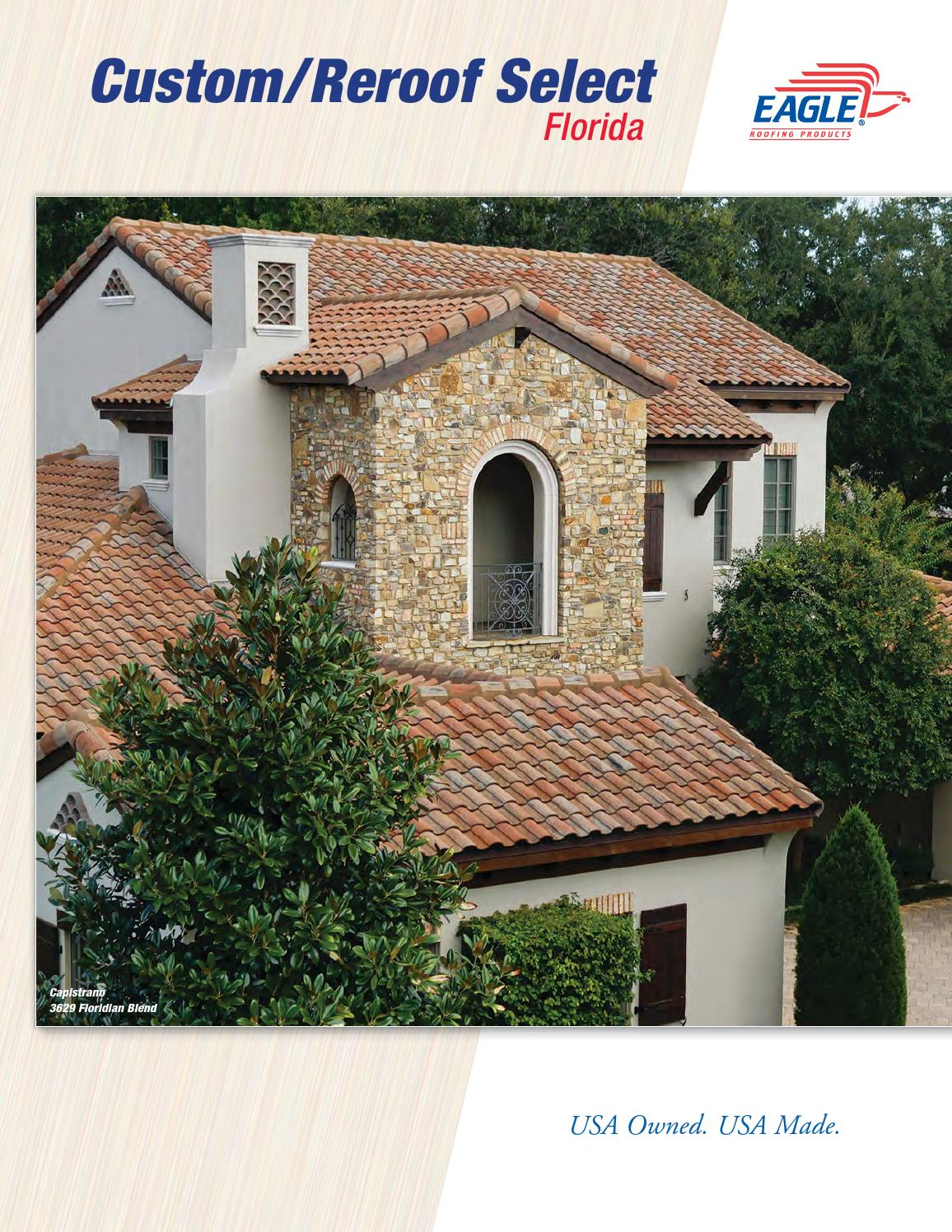 Eagle Florida Custom Reroof Select Collection 2013 By