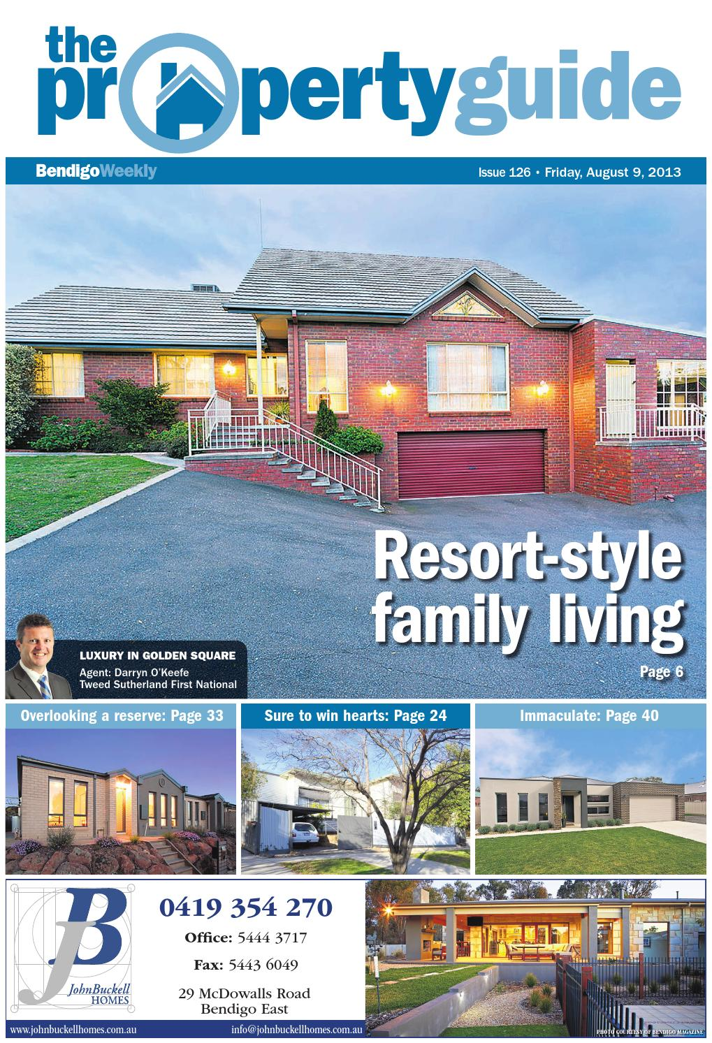 Bendigo Weekly Property Guide issue #826 - Friday, August 9, 2013 by ...