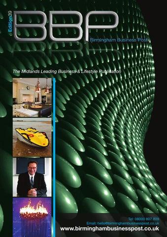 5b89ea4fe7 Birmingham Business Post Edition 39 by BBP Media - issuu