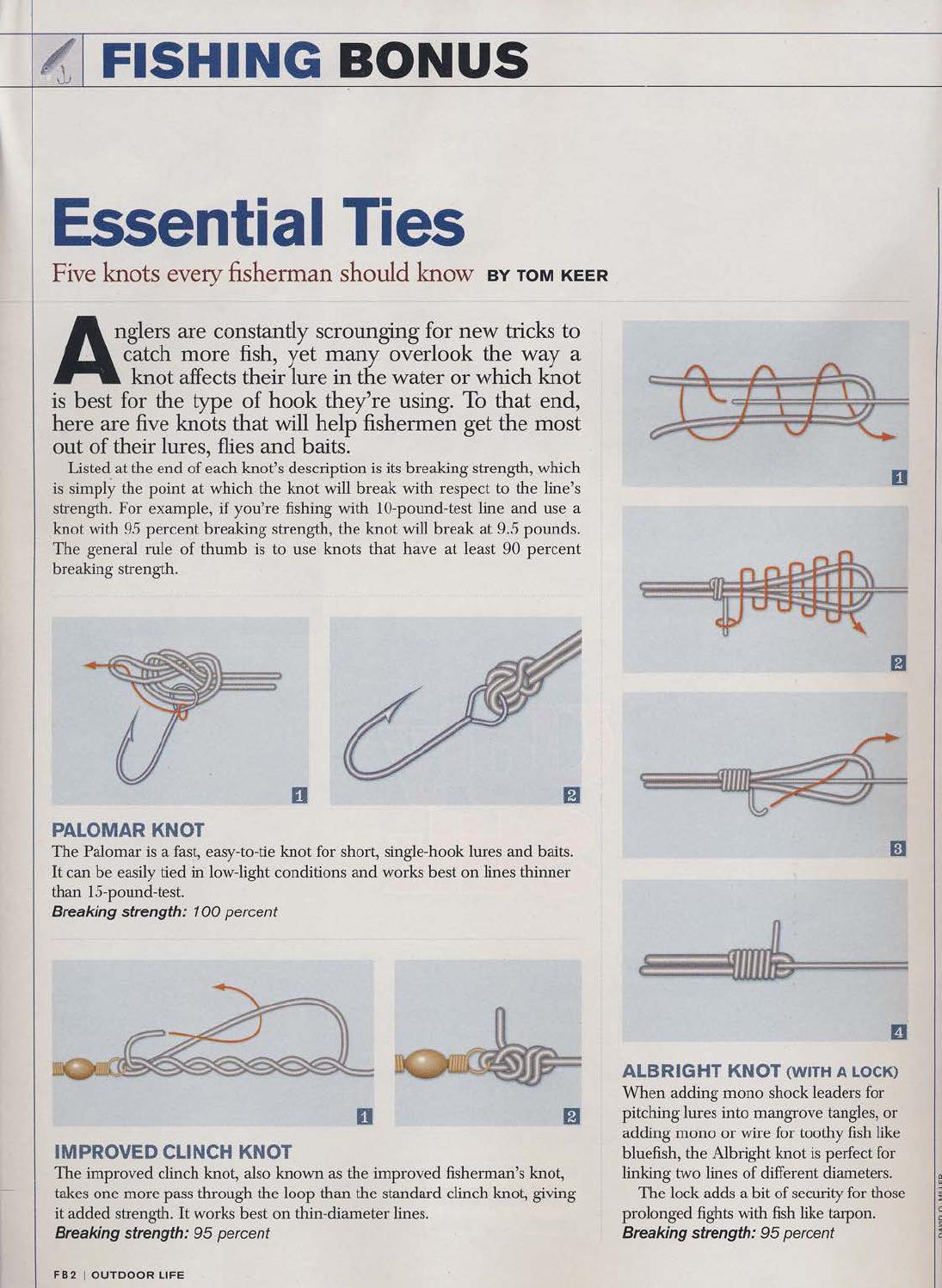 Essential Ties By Tom Keer Originally Printed In Outdoor Life Adding A New Light Loop Wiring Issuu