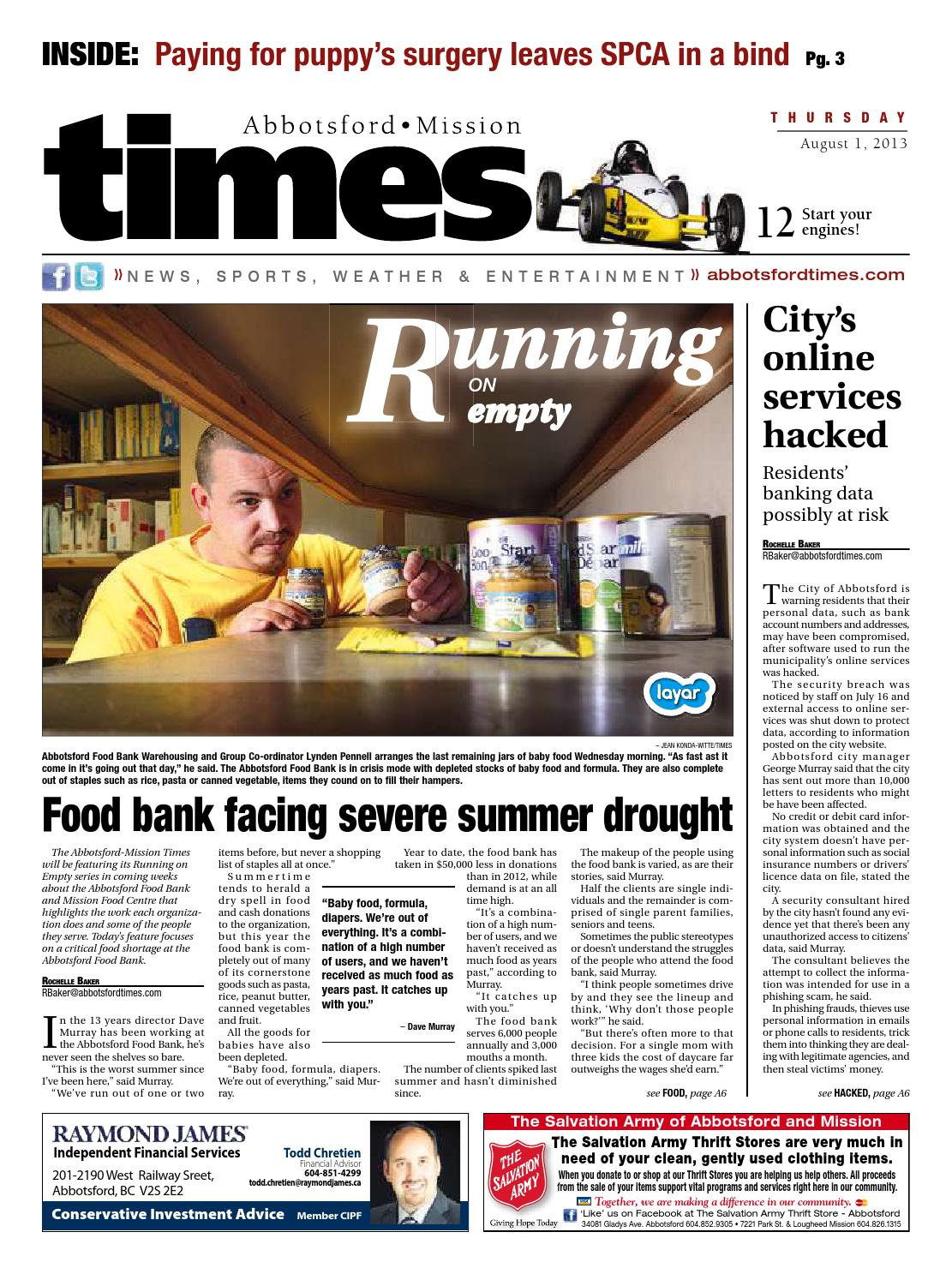 Abbotsford Times - August 1, 2013 by Abbotsford Times - issuu