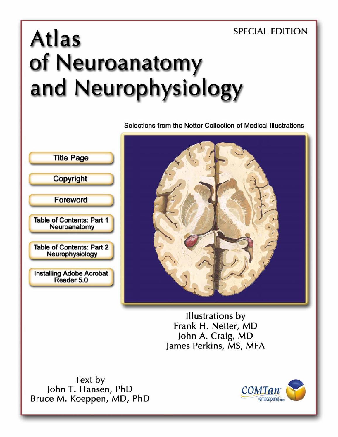 Atlas of neuroanatomy and neurophysiology frank h netter by ...