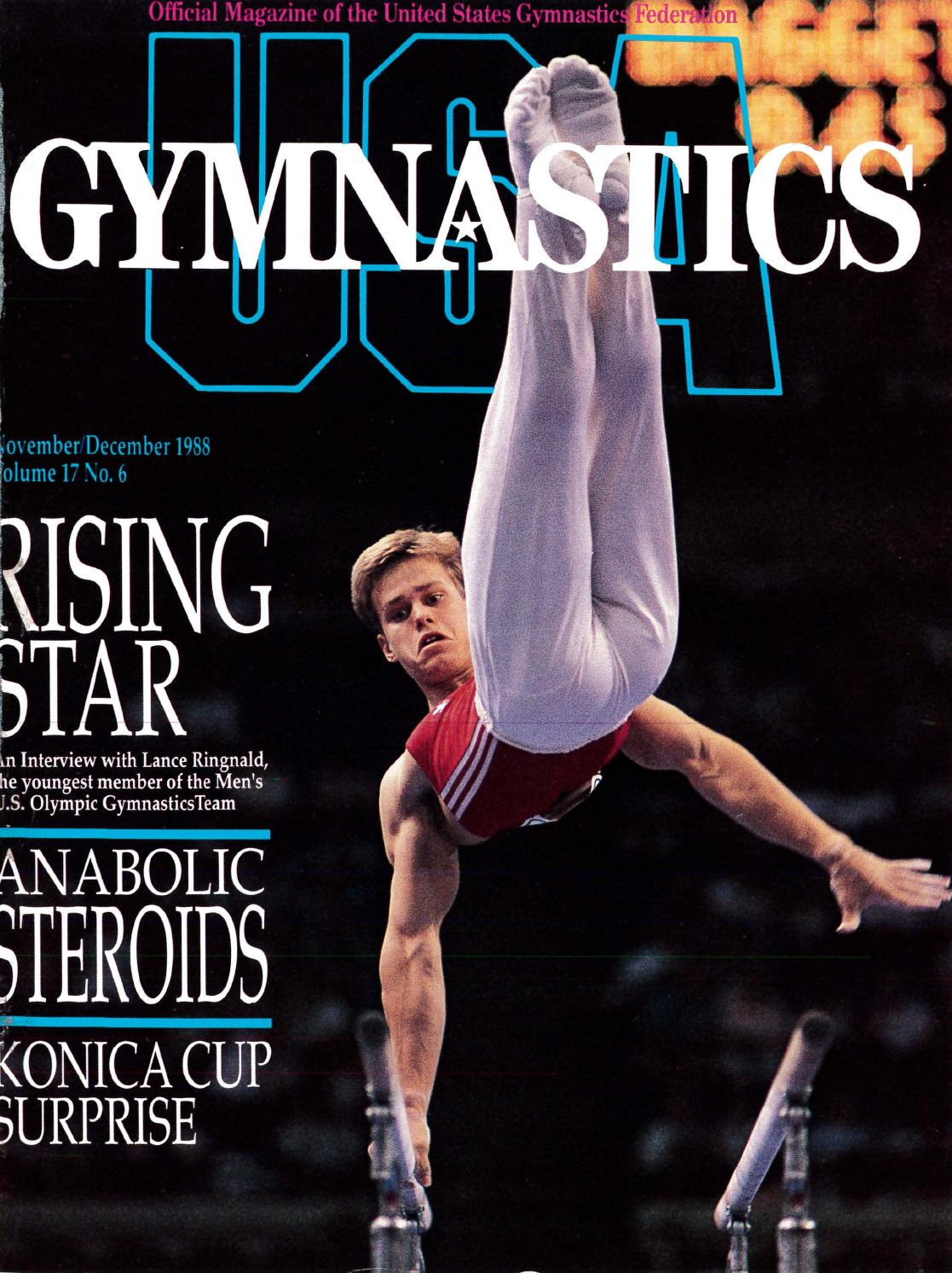 usa gymnastics  december 1988 by usa gymnastics