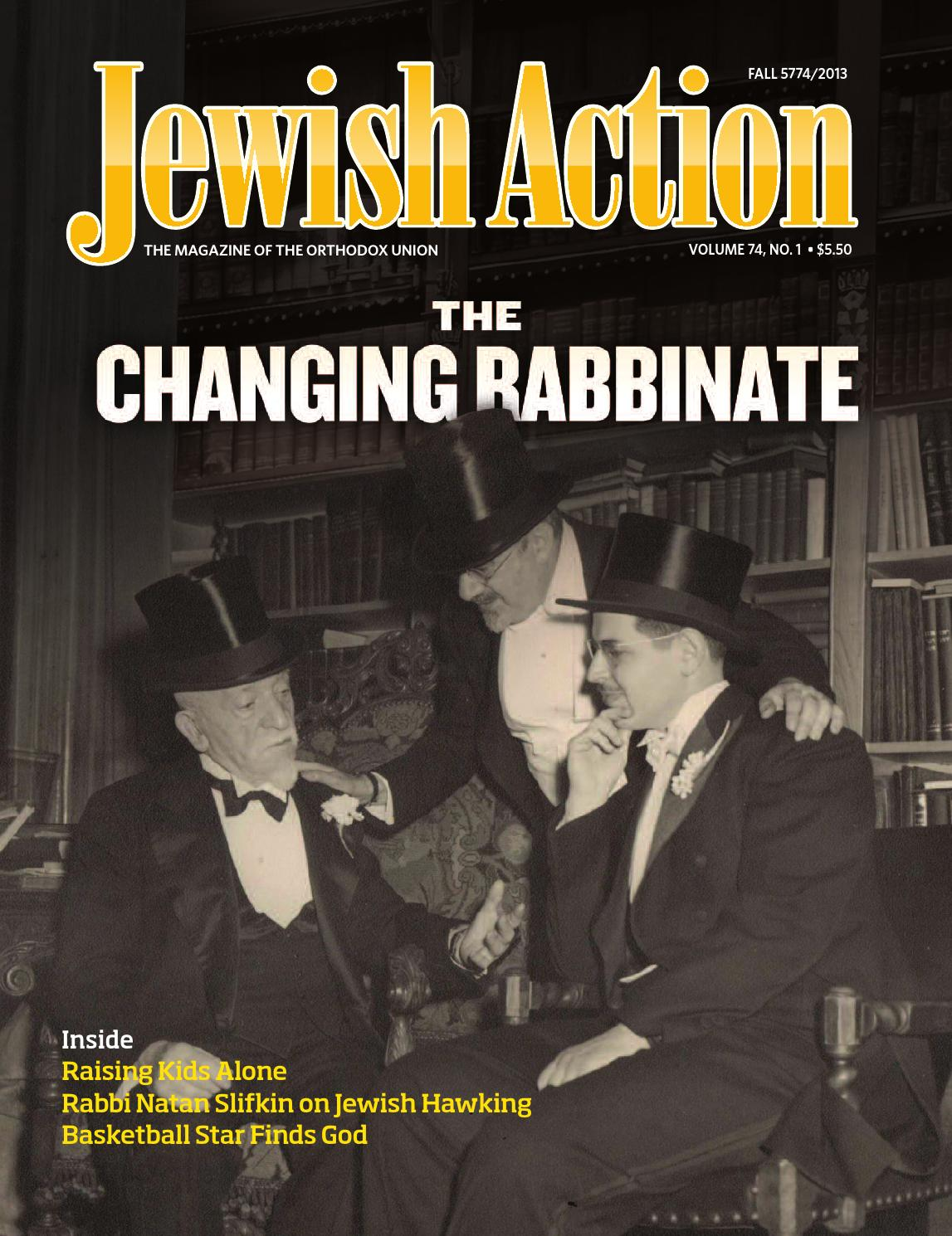 Jewish Action Fall 2013 by Orthodox