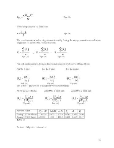Page 16 of Estimation of Moment of Inertia