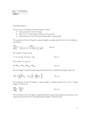 Page 7 of Sensitivity Analysis