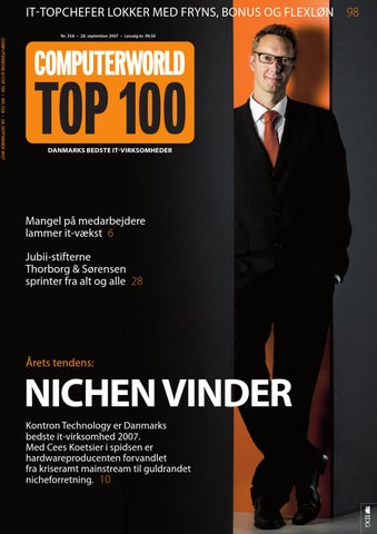 bdbe4963d9cd Computerworld Top 100   2007 by Computerworld A S - issuu